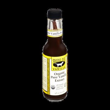 Singing Dog Vanilla Sugar & Gluten Free Organic Pure Vanilla Extract with Whole Vanilla Bean