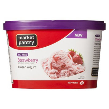 market pantry Market Pantry Fat Free Strawberry Frozen Yogurt 1.5-qt.