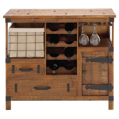 UMA Enterprises 8-Bottle Wine Chest