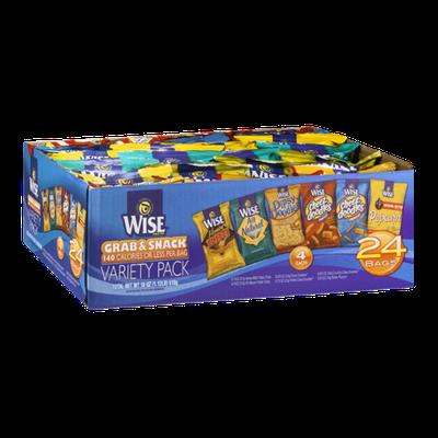 Wise Grab & Snack Variety Pack - 24 CT
