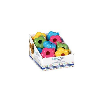 ClearQuest Clearquest US0342 14 Flower Waste Bag Holder Display Brights