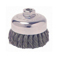 Weiler General-Duty Knot Wire Cup Brushes - sra-3 .020 m10 x 1.253 1/2in dia