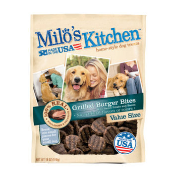 Milo's KitchenA Grilled Burger Bites Dog Treat