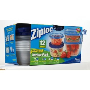 Ziploc Containers Variety Pack