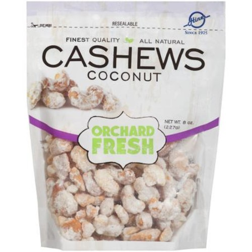 Hines Orchard Fresh Coconut Cashews, 8 oz