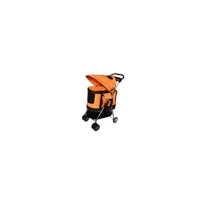 Bestpet Orange Ultimate 4 In 1 Pet Stroller