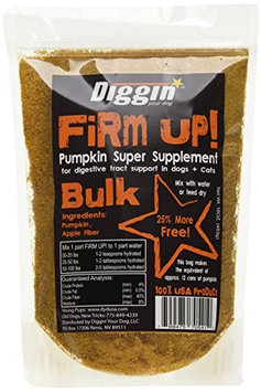 Diggin Your Dog Firm! Up Pumpkin Flakes 16 oz.