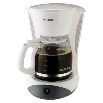 Mr. Coffee 12-Cup Switch Coffeemaker - White
