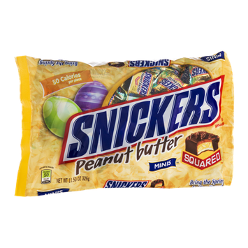 Snickers Peanut Butter Squared Minis