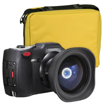 SeaLife DC1400 Reef Edition HD Underwater Digital Camera with Fisheye Lens & Travel Case Waterproof up to 200 ft. (60m)