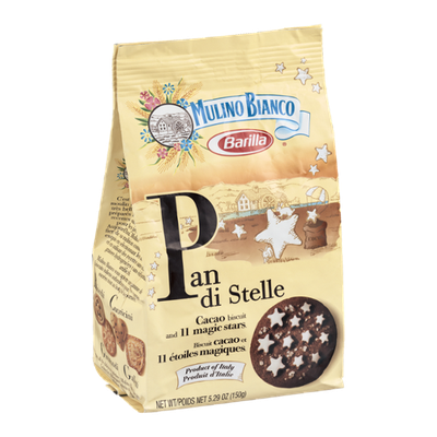Barilla Mulino Bianco Pan Di Stelle Biscuit