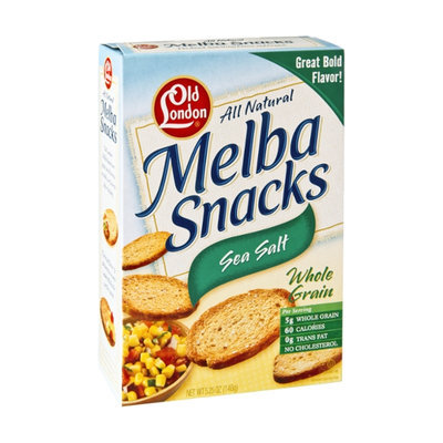 Old London All Natural Sea Salt Melba Snacks