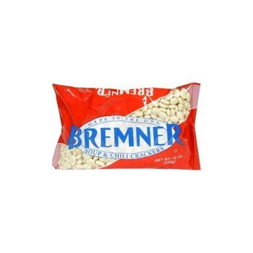 Bremner Crackers Soup & Chili, 12-Ounce (Pack of 2)