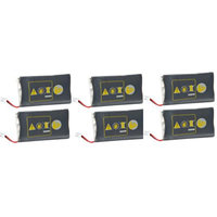 Replacement Battery For Plantronics 64399-01 (6 Pack)