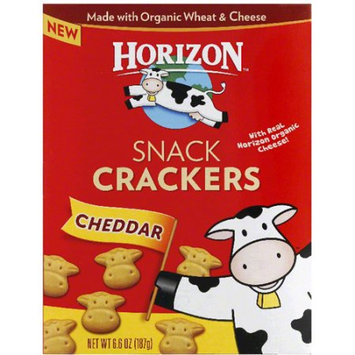 Horizon Cheddar Snack Crackers, 6.6 oz, (Pack of 12)