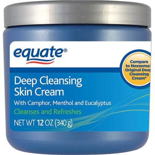 Equate Deep Cleansing Skin Cream, 12 oz