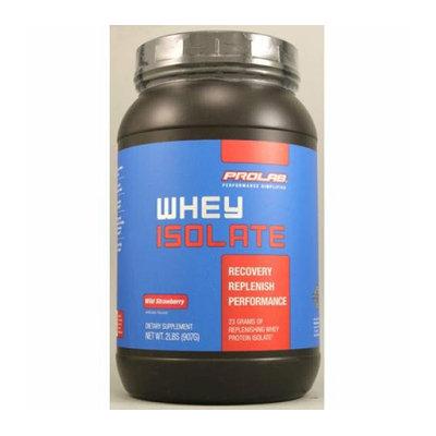 ProLab Whey Isolate Wild Strawberry 2 lbs