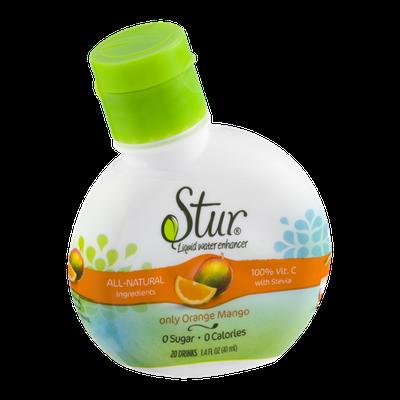 Stur Liquid Water Enhancer Only Orange Mango