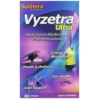 Scimera BioScience Vyzetra Ultra Multivitamin & Multiminerals Pack of 60