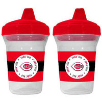 Baby Fanatic MLB Cincinnati Reds 2-Pack Sippy Cup