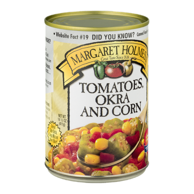 Margaret Holmes Tomatoes Okra and Corn