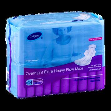 CareOne Overnight Extra Heavy Flow Maxi - 20 CT