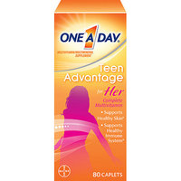One A Day Teen Advantage For Her Multivitamin/Multimineral Supplement 80 CT