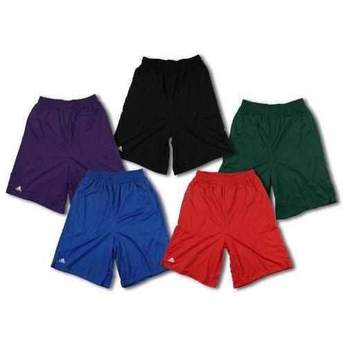 Adidas Athletic Coaches Shorts, Double Layered