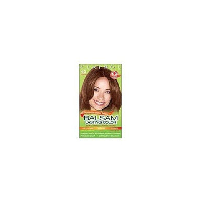 Clairol Balsam Lasting Color Caramelos Sedosos Collection Creme Hair Color-Medium Golden Brown (43)