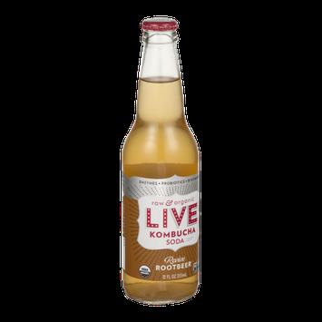 LIVE Kombucha Soda Revive Rootbeer