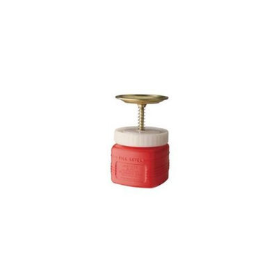 Justrite 14018 1 Qt Plunger Can Non Metallic With Brass