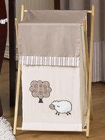 Sweet Jojo Designs Lamb Collection Laundry Hamper