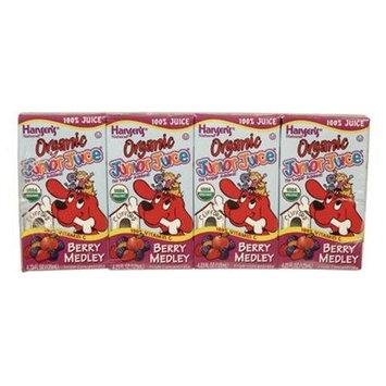 Hansen Juice Jr, Organic, Berry Medley, 4/4.23oz (pack of 11 )