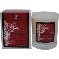 Aroma Paws Candle in Glass with Gift Box, 8-Ounce, Pomegranate Cucumber
