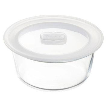 Bormioli Rocco Frigoverre Microwave 34 oz. Round Glass Food Storage