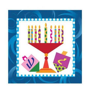 Hanna K Signature Hanna K. Signature 97537 Happy Chanukah Beverage Napkin - 2700 Per Case