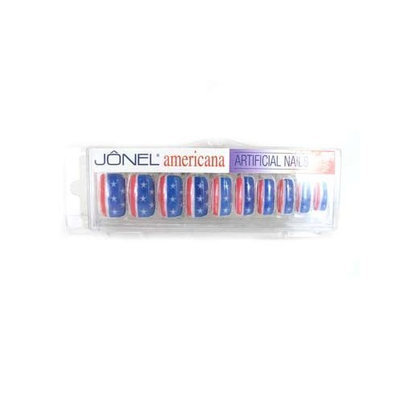 Jonel Artificial Nails 20 count French- White/White Tip