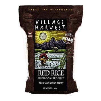 Village Harvest Whole Grain Heirloom Red Rice 16 oz