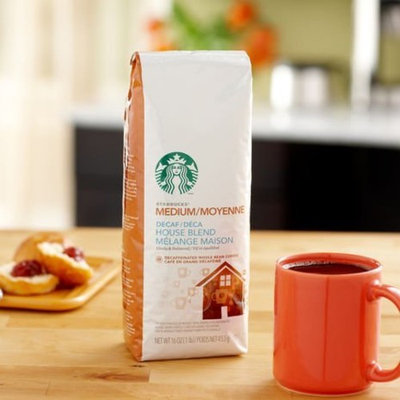 Starbucks Coffee Beans (Decaf House Blend) 6 lbs (Decaf House Blend)