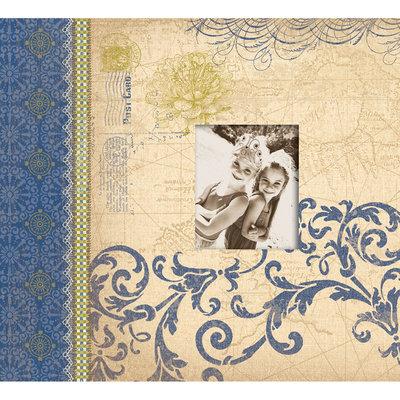 K & Company Blue Awning Postbound Album 12
