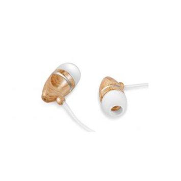 Zenex EP5438 Graphic Collection Wood Headphones- Black