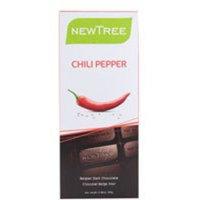 Newtree Tree Belgian Dark Chocolate Bar Chili Pepper -- 2.82 oz