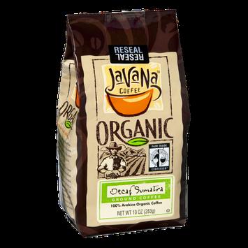 JavaNa Coffee Organic Decaf Sumatra Ground Coffee