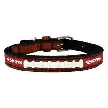 GameWear San Francisco 49ers Classic Leather Toy Football Collar