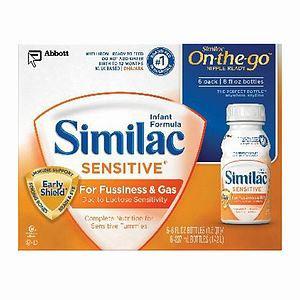 Similac Sensitive Infant Formula Concentrated Liquid