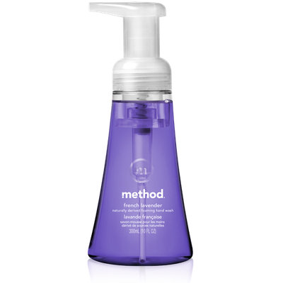 method french lavender foaming hand wash