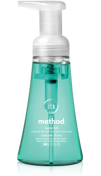 method waterfall foaming hand wash
