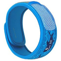 PARA'KITO Kids Mosquito Repellent Band Pink Sea World - Includes 2 Pellets