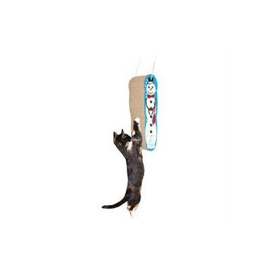 Imperial Cat 01015 Snowman Hanging Cat Scratcher
