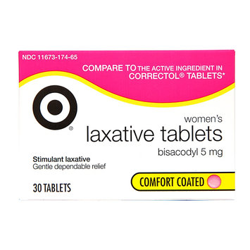 up & up Women's Laxative 5 mg Tablets - 30 Count